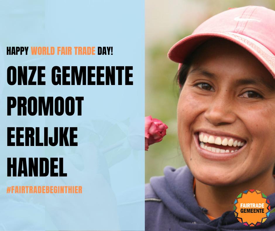 Zet jouw gemeente in de kijker tijdens World Fair Trade Day
