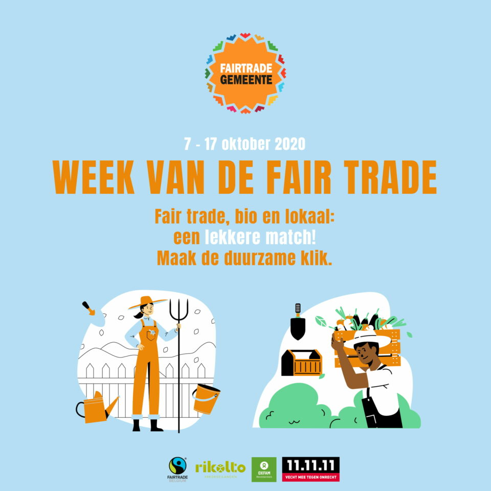 Actie Week van de Fair Trade: zoek een duurzame match in jouw gemeente!