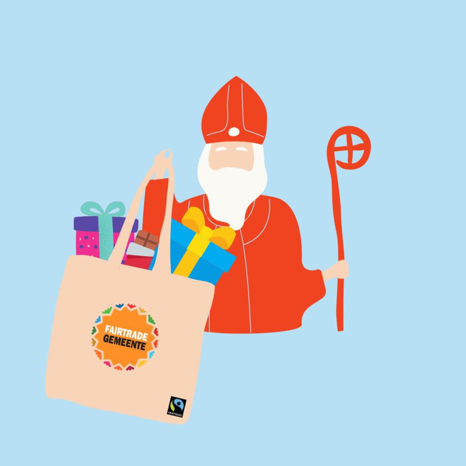 Brengt de Sint eerlijke chocolade in jouw gemeente?
